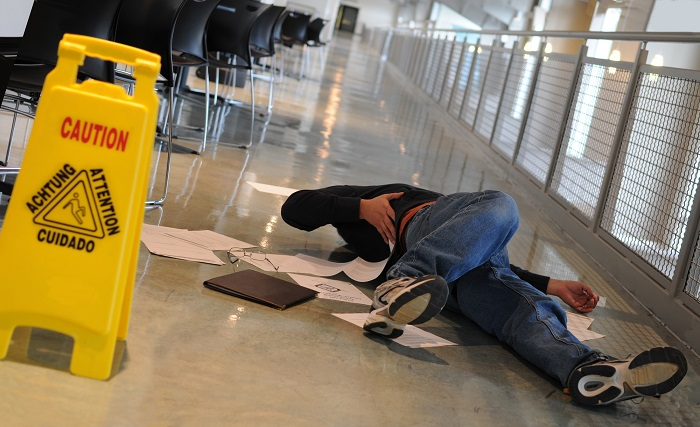 Some Steps to Take after Suffering A Slip & Fall Accident